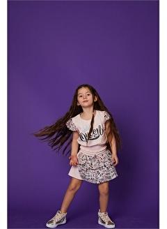 Little Star Little Star Kız Çocuk Simli Etek